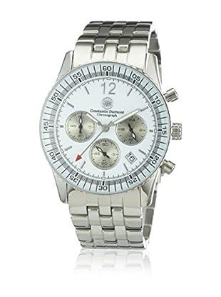 Constantin Durmont Reloj de cuarzo Unisex CD-AIRC-QZ-ST-STST-WH  40 mm