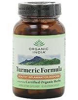 Organic India Turmeric - 90 Vegetarian Capsules