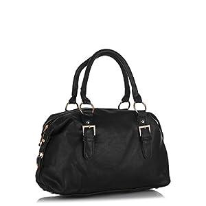 P.H.A.T Bowler Handbag - Black