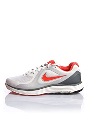Nike Zapatillas Wmns Nike Lunarswift+ (Blanco / Gris / Rojo)