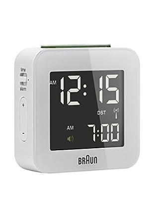 Braun Reloj despertador BNC008WH-RC Blanco