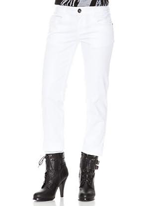 Stix Casual Pantalón (Blanco)