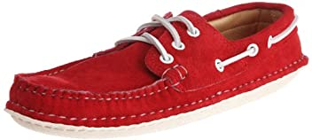 Boat Moc 606: Red Suede