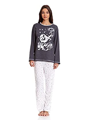 Kumy Pijama Señora Amanecer (Gris)
