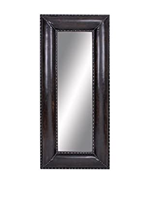 Leather Wall Mirror