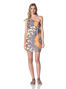 Susana Monaco Women's Akiko Dress (Gull)