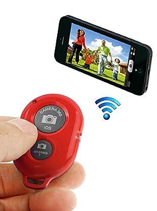 Unotec Disparador De Fotos Bluetooth Rojo