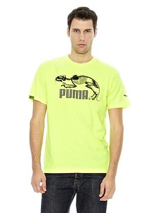 Puma Camiseta Zombie (Amarillo Flúor)