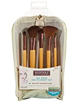 EcoTools 6 Piece Day To Night Clutch Set, 5.87 Ounce