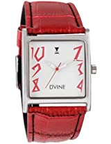 Women Dvine Watches Casual (CF-1011SL-RD01)