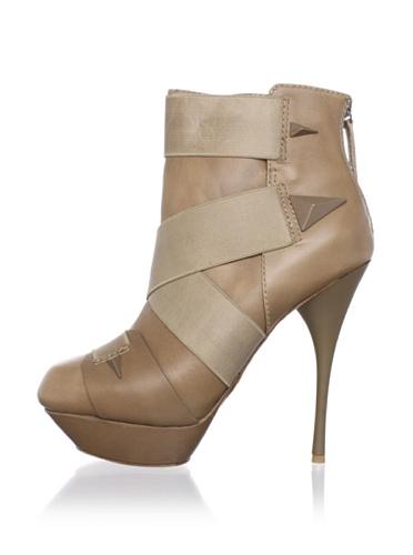 L.A.M.B. Women's Bask Boot (Beige)