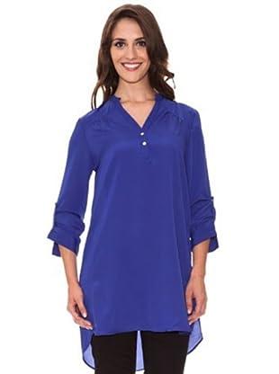 Cortefiel Blusón Oversize (Azul)