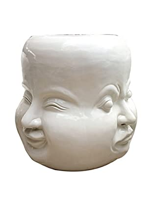 Asian Art Imports Four Faces Stool