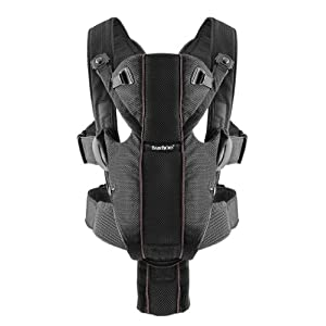 Babybjorn Baby Carrier Miracle - Black - Mesh