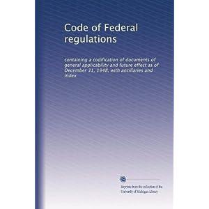 【クリックで詳細表示】Code of Federal regulations (Vol.4304): Unknown: 洋書