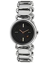 Fastrack Analog Black Dial Women's Watch - 6117SM01