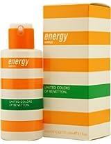 Energy Woman By Benetton EDT Spray 3.3 Oz