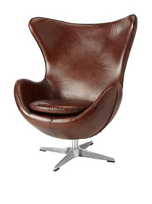 CDI Vintage Leather Copenhagen Chair, Brown