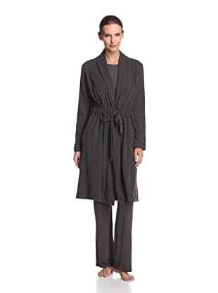 Valery Sleepwear Women's Cinderella Robe (Black)