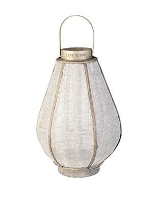 Lene Bjerre Ilena Lantern Model 2, Antique Linen