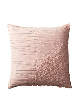 Shades of India Square Daffodil Pillow Cover, Blush