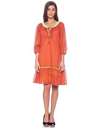 Sigris Vestido India (Naranja)