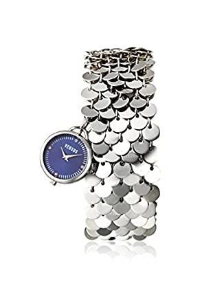 Versus by Versace Women's SGD040012 Lights Silver/Blue Stainless Steel Watch