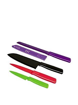 Kuhn Rikon Messer Set Colori®, 4-teilig bunt