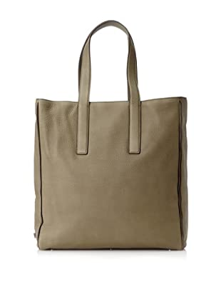 Calvin Klein Collection Men's Leather Hook Tote (Moss Green)