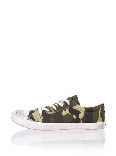 Diesel Kid's Melting Pot Citizen Sneaker (Green Camouflage)