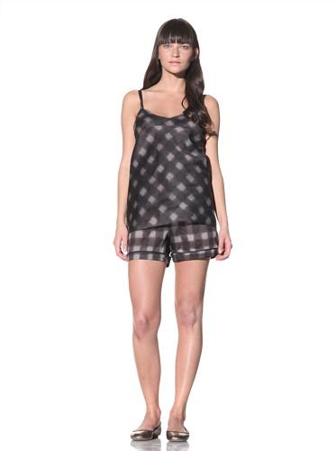 MARNI Women's Printed Camisole (Charcoal Grey)