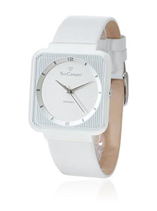 Yves Camani Reloj Grand Cerámica Blanco