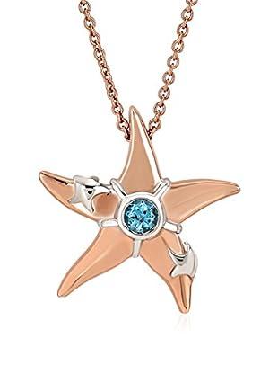 Divas Diamond Set Kette und Anhänger  vergoldetes Silber 925
