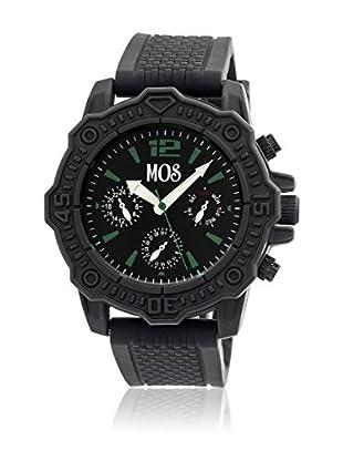 Mos Reloj con movimiento cuarzo japonés Mospg105 Negro 45  mm