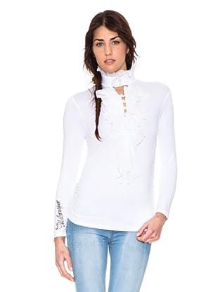 Mala Mujer Camiseta Carla (Blanco)