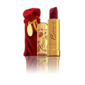 Besame Cosmetics Classic Color Lipstick, Noir Red, 0.8 Ounce