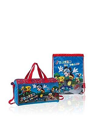 Disney Reisetasche + Rucksack Mickey Skater