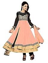 Nazaquat Elegant Pink Anarkali Suit Salwar Kameez