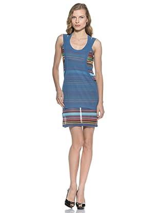 Stefanel Mini Kleid (Blau)