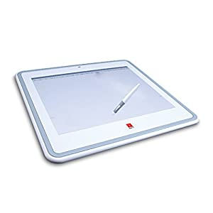 iBall 12-Inch x 9-Inch (1024 level) Digitizer with Cordless Pen, White