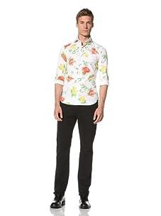 Orian Men's Floral Shirt (Flowerchild Multicolor)