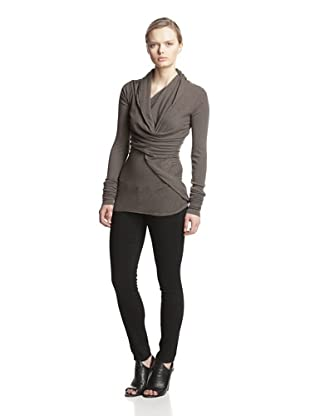 Rick Owens Lilies Women's Twist Top (Dark Dust)