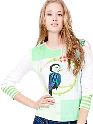 Custo Camiseta Pox Toucan (Blanco)