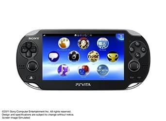 PlayStation Vita (プレイステーション ヴィータ) 3G/Wi‐Fiモデル クリスタル・ブラック (初回限定版) (PCH-1100 AA01)