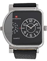 Baywatch 7078 Analog Watch - For Men (Black) 7078BLACK
