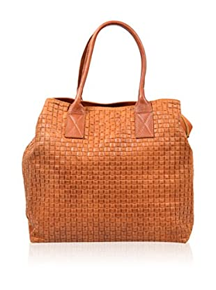 Carla Belotti Bolso asa de mano Handbag Light Brown Dom