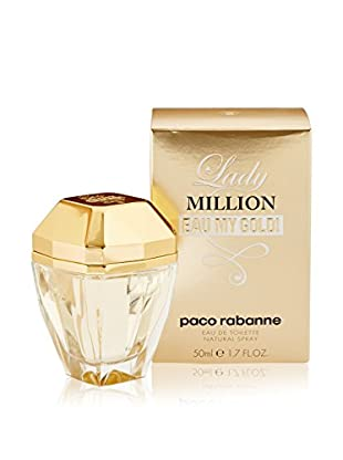 Paco Rabanne Eau de Toilette Mujer Lady Million Eau My Gold! 50 ml