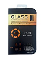 Tempered Glass Screen Scratch Protector Guard for Asus Zenfone 2 ZE550ML with Flat Edges(Clear)