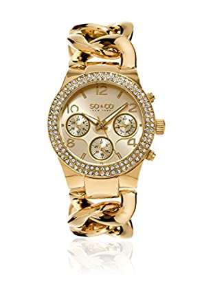 SO & CO New York Reloj de cuarzo  Dorado 38 mm