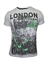 Pepe Jeans London Buffalo Bars Grey T-Shirt
